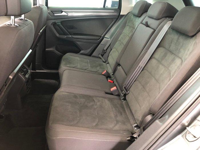 2018 Volkswagen Tiguan 162TSI Sportline 5N MY18 Four Wheel Drive Indium Grey