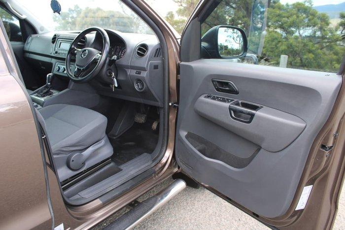 2016 Volkswagen Amarok TDI420 Core 2H MY16 4X4 Constant Brown
