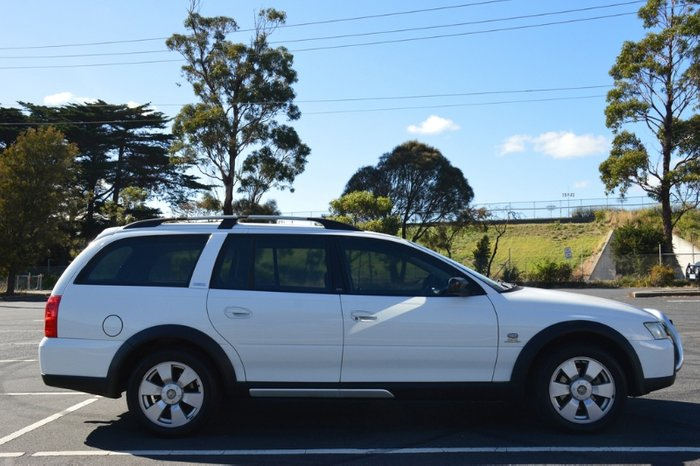 2005 Holden Adventra CX6 VZ Four Wheel Drive WHITE