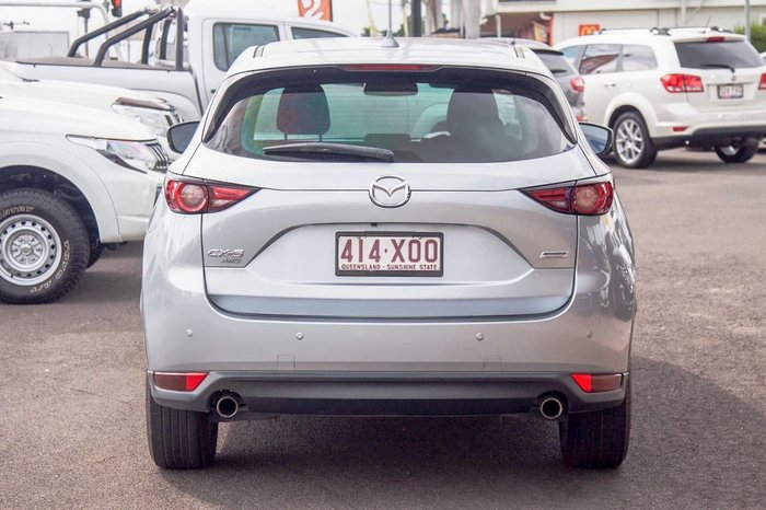 2017 Mazda CX-5 Touring KF Series 4X4 On Demand Silver