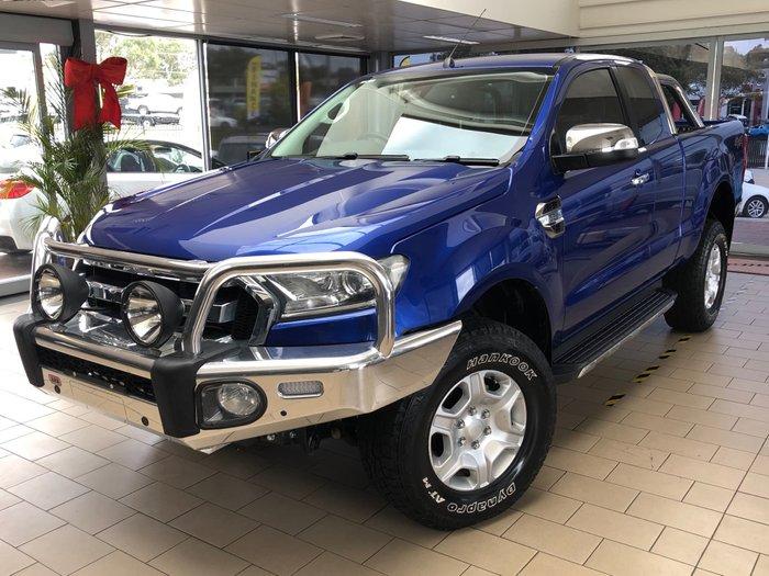 2017 Ford Ranger XLT PX MkII 4X4 Dual Range Aurora Blue
