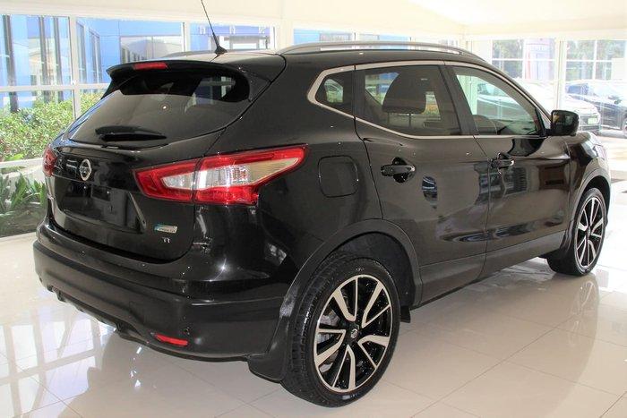 2016 Nissan QASHQAI Ti J11 Black