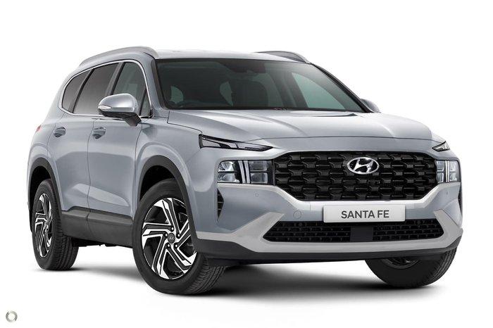 2020 Hyundai Santa Fe Active TM.V3 MY21 4X4 On Demand Silver