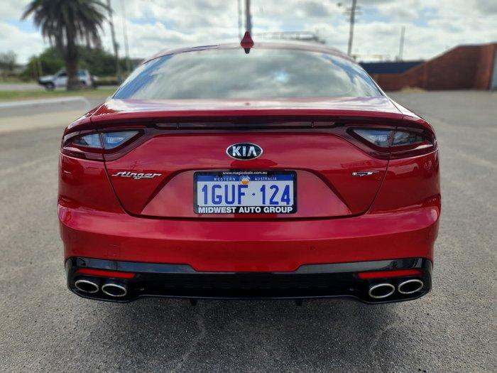 2018 Kia Stinger GT CK MY19 Hichroma Red