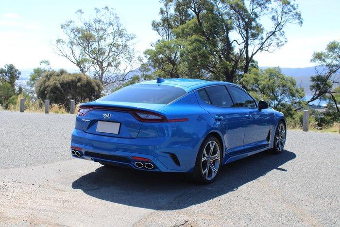 2018 Kia Stinger GT CK MY18 Blue