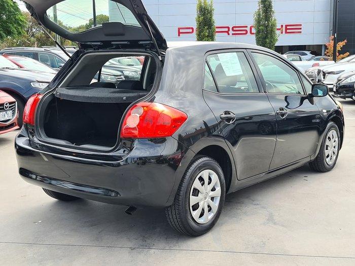 2008 Toyota Corolla Ascent ZRE152R Black