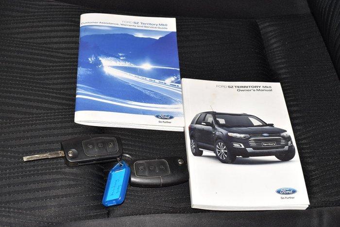 2015 Ford Territory TX SZ MkII Four Wheel Drive Smoke