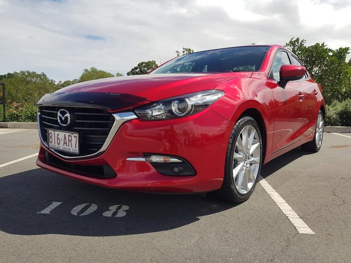 2016 Mazda 3 SP25 BM Series Red