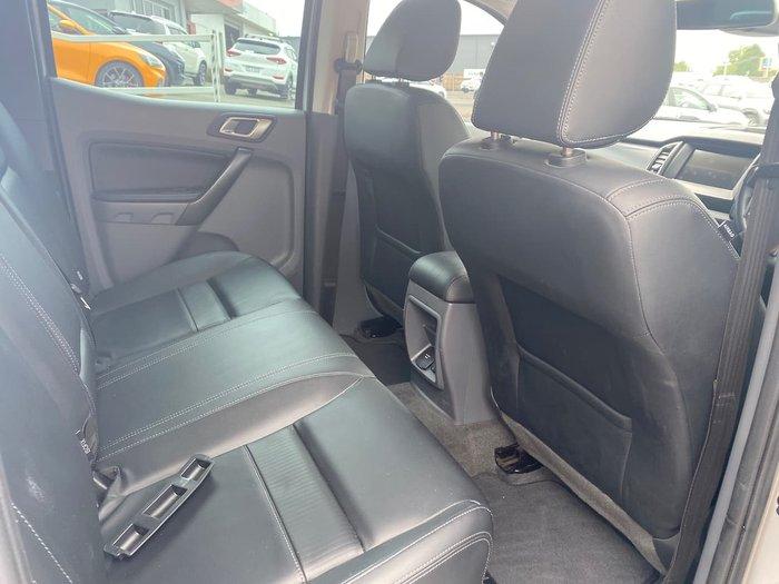 2017 Ford Ranger FX4 PX MkII 4X4 Dual Range Silver