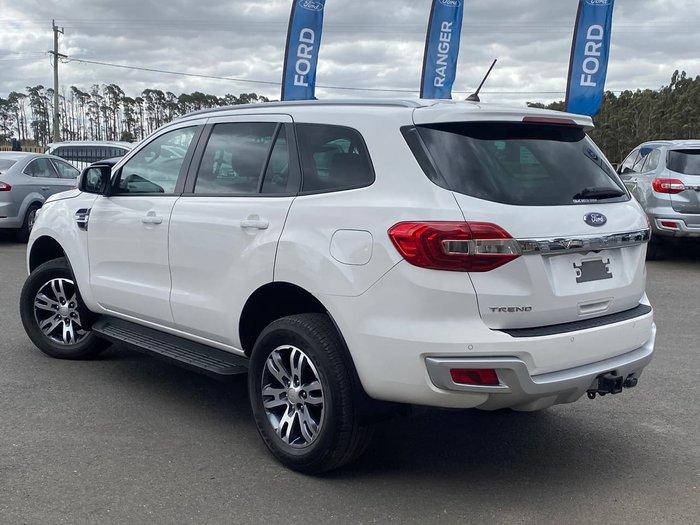 2019 Ford Everest Trend UA II MY19 White