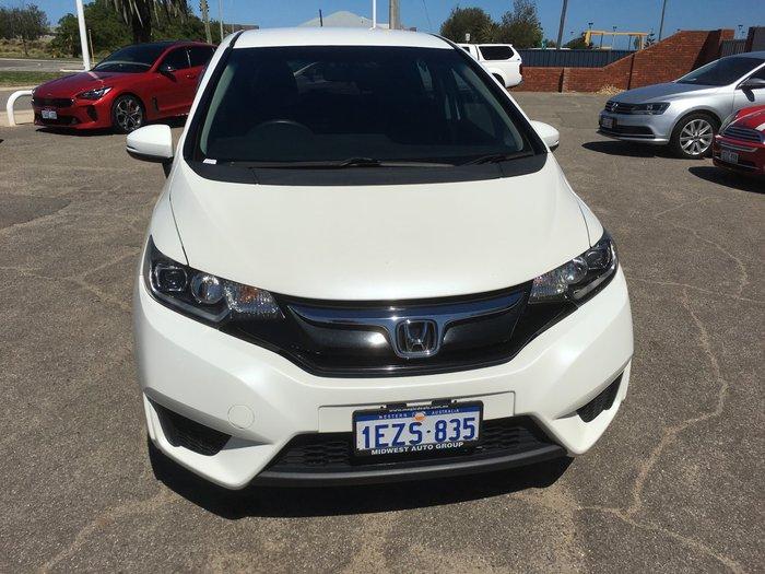 2016 Honda Jazz VTi GF MY16 White Orchid