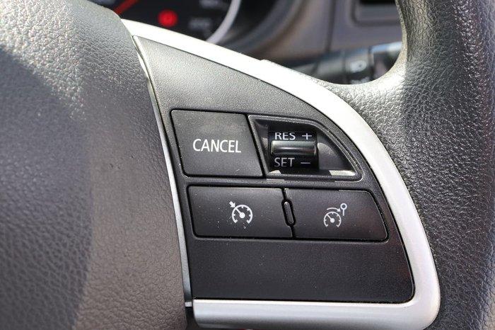 2017 Mitsubishi Triton GLX MQ MY17 4X4 Dual Range Black
