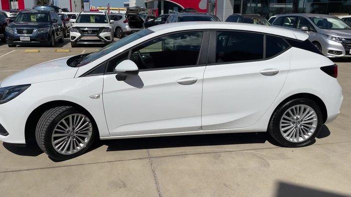 2017 Holden Astra R BK MY17 White