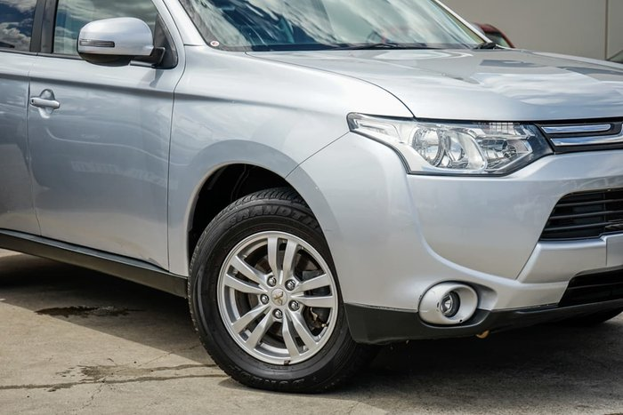 2013 Mitsubishi Outlander LS ZJ MY14 Silver