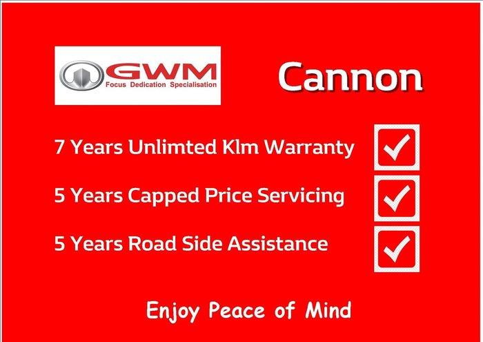 2020 GWM Ute Cannon NPW 4X4 Silver
