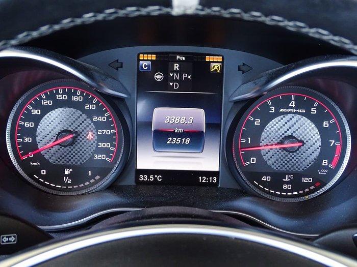 2016 Mercedes-Benz C-Class C63 AMG S A205 White