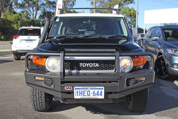 2013 Toyota FJ Cruiser GSJ15R 4X4 Dual Range Black