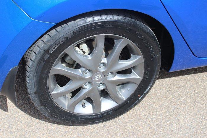 2011 Hyundai i30 Trophy FD MY11 Blue