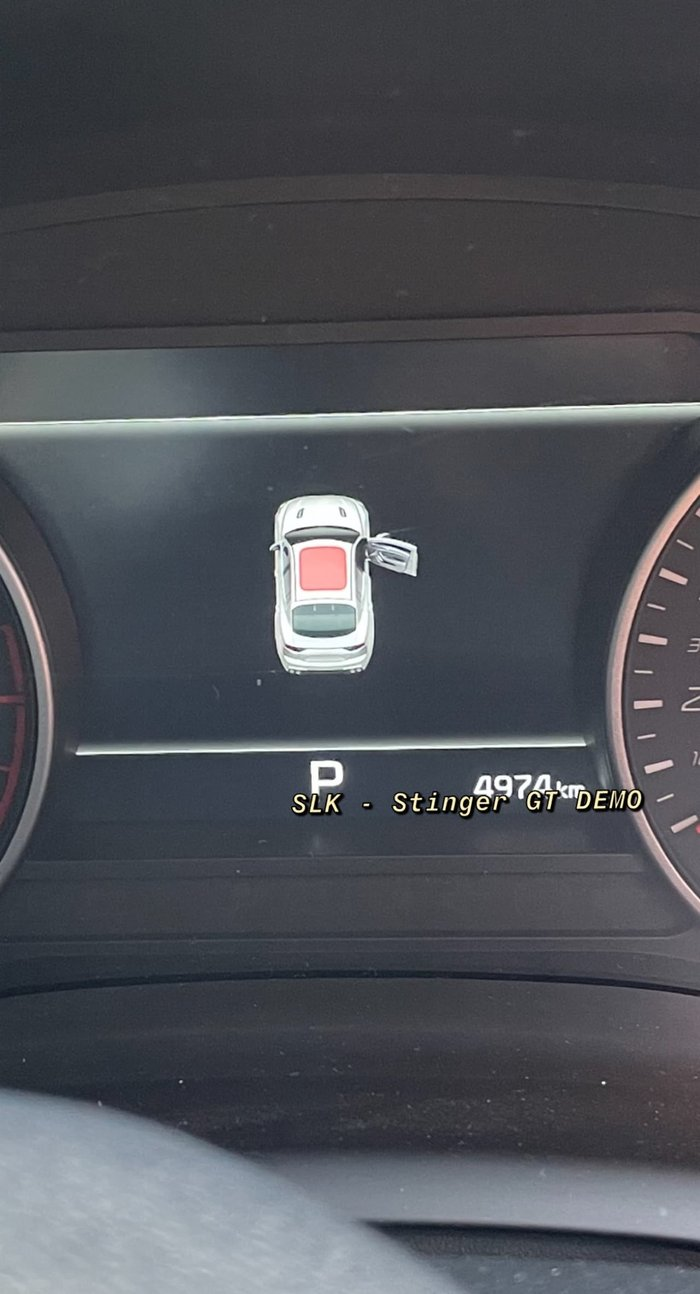 2020 Kia Stinger GT CK MY21 Black