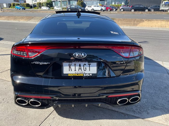 2020 Kia Stinger GT CK MY21 Black