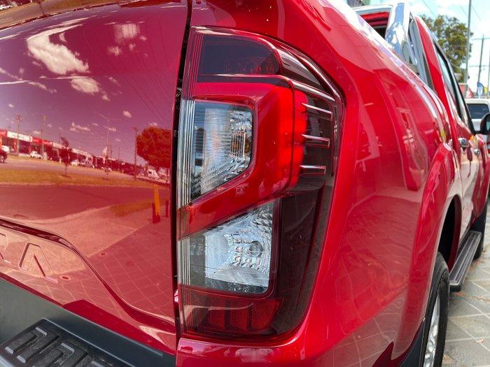 2021 Nissan Navara ST D23 4X4 Dual Range Burning Red