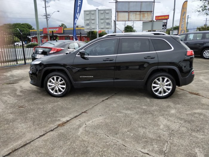 2014 Jeep Cherokee Limited KL 4X4 On Demand Black
