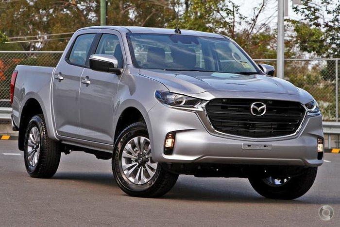 2020 Mazda BT-50 XT TF 4X4 Dual Range Ingot Silver