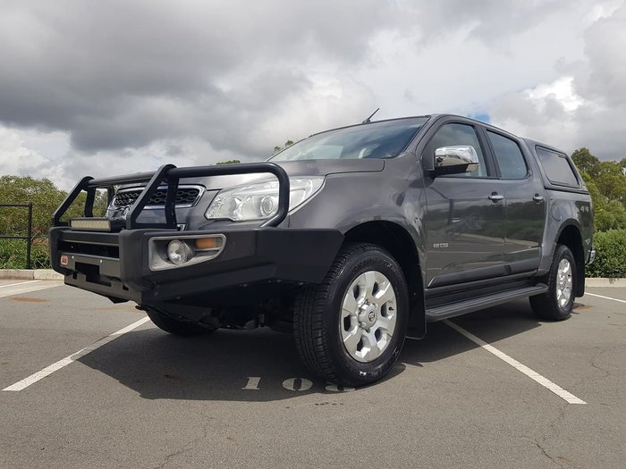 2013 Holden Colorado LTZ RG MY13 4X4 Dual Range Grey