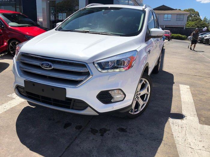 2017 Ford Escape Titanium ZG 4X4 On Demand White
