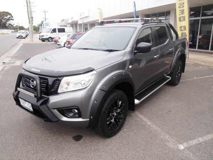 2018 Nissan Navara ST Black Edition D23 Series 3 4X4 Dual Range Grey