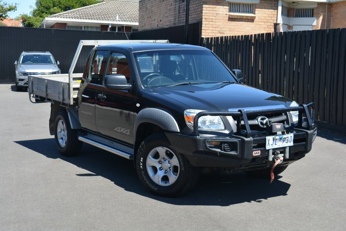 2009 Mazda BT-50 DX+ UN 4X4 Black Mica