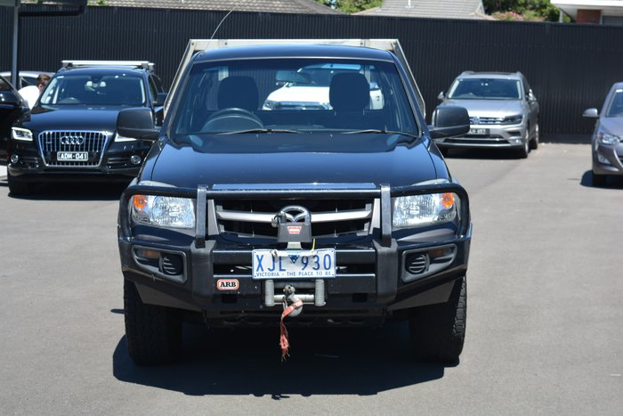2009 Mazda BT-50 DX+ UN 4X4 Black Mica