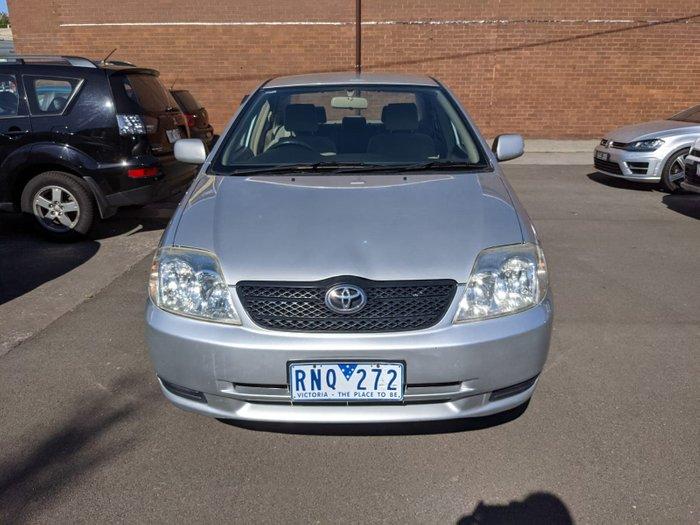 2002 Toyota Corolla Ascent ZZE122R Silver