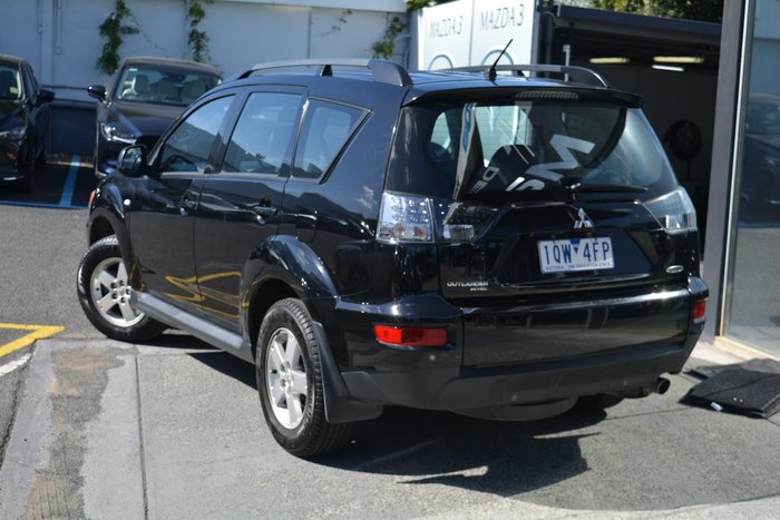2012 Mitsubishi Outlander LS ZH MY12 Black