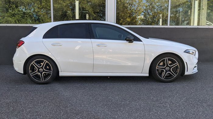 2019 Mercedes-Benz A-Class A250 AMG Line W177 Four Wheel Drive Polar White