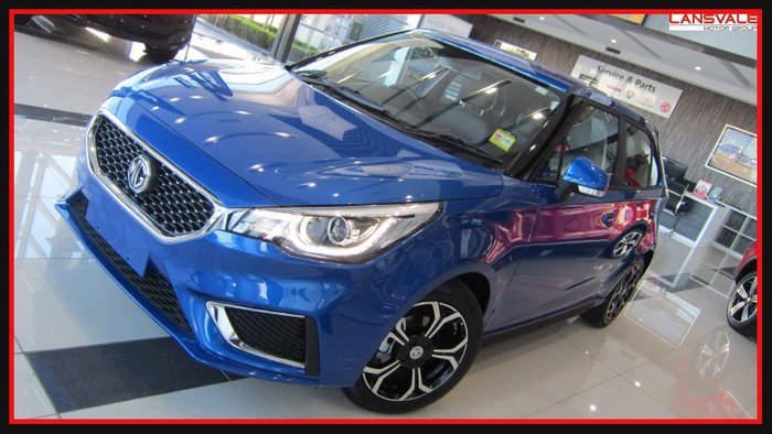2020 MG MG3 Excite SZP1 MY20 REGAL BLUE