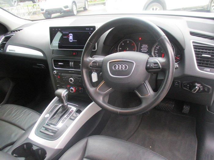 2012 Audi Q5 TDI 8R MY12 Four Wheel Drive Glacier White
