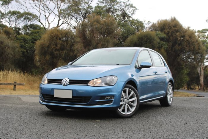 2014 Volkswagen Golf 110TDI Highline 7 MY15 Blue