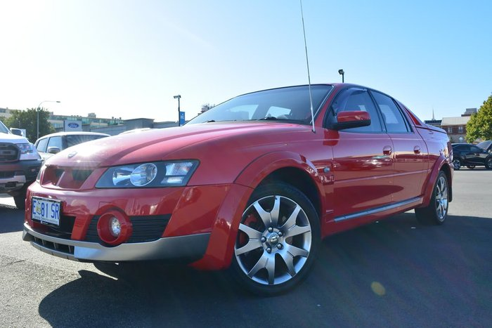 2004 Holden Special Vehicles Avalanche XUV Y Series II Upd 4X4 Constant Red