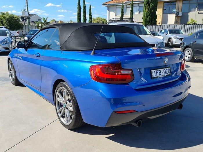 2015 BMW 2 Series M235i (No Series) Blue