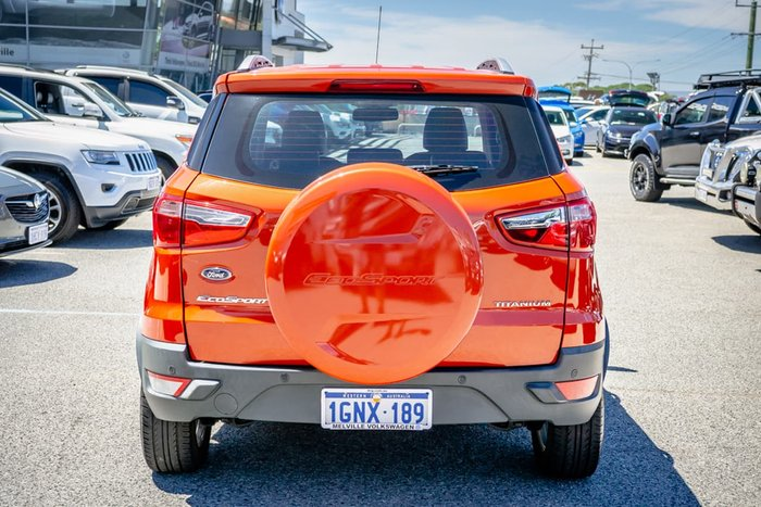 2017 Ford EcoSport Titanium BL MY18 Orange