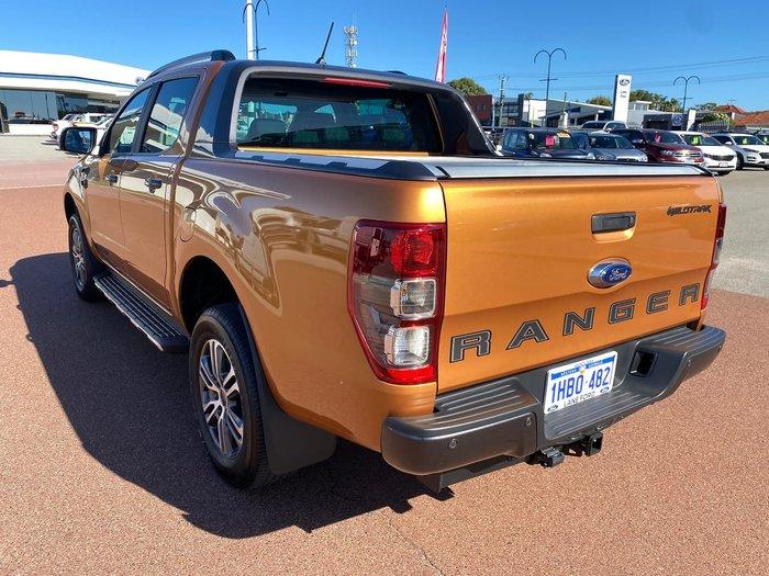 2020 Ford Ranger Wildtrak PX MkIII MY20.25 4X4 Dual Range Orange