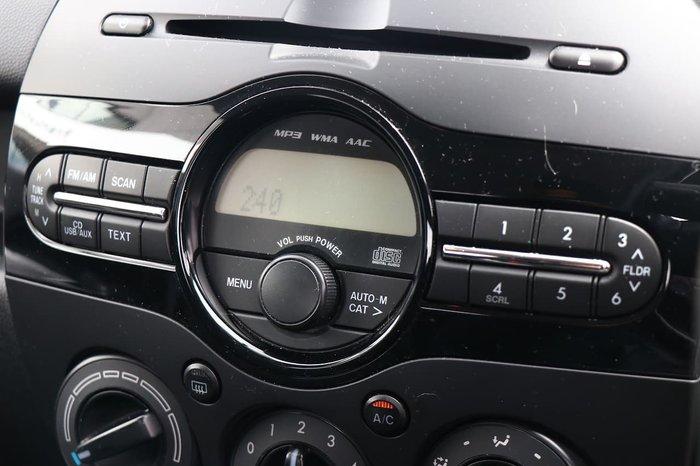 2013 Mazda 2 Neo DE Series 2 MY13 Blue