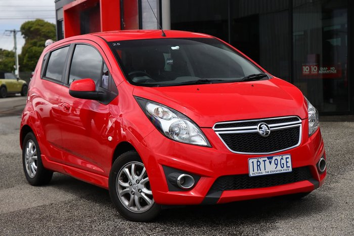2015 Holden Barina Spark CD MJ MY15 Red
