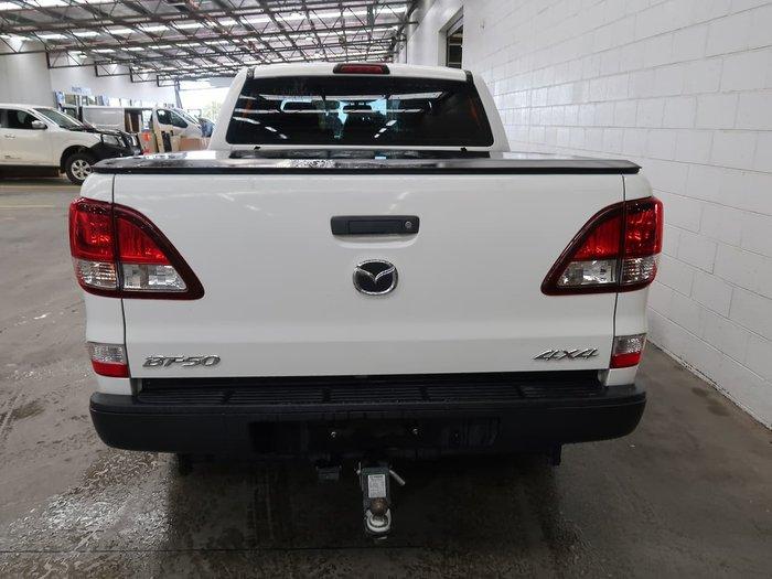 2015 Mazda BT-50 XT UR 4X4 Dual Range White