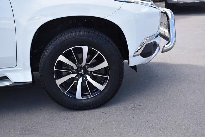 2016 Mitsubishi Pajero Sport GLX QE MY16 4X4 Dual Range White