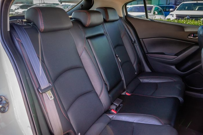 2015 Mazda 3 Touring BM Series White