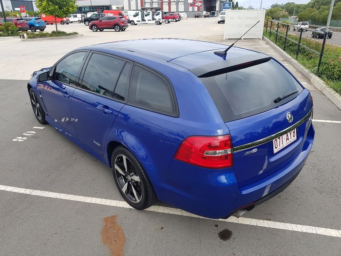 2016 Holden Commodore SV6 Black VF Series II MY16 Blue