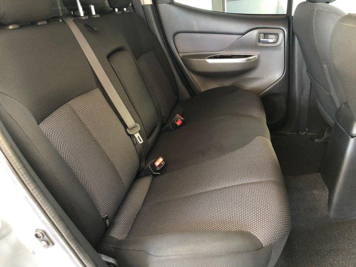 2017 Mitsubishi Triton GLS MQ MY17 4X4 Dual Range Titanium