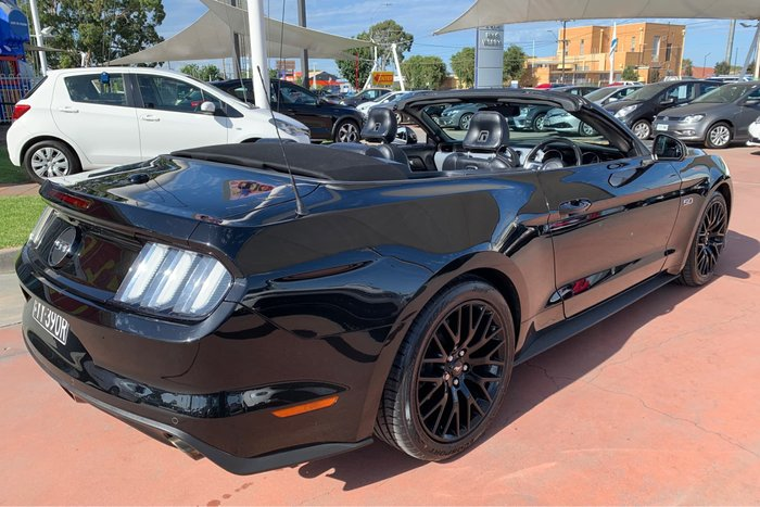 2016 Ford Mustang GT FM MY17 Shadow Black